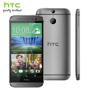 SIM Free HTC One M8 Unlocked - 16GB - Gun Metal Grey