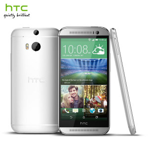 SIM Free HTC One M8 Unlocked - 32GB - Glacial Silver