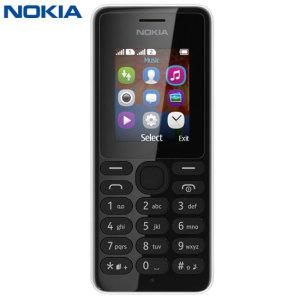 Sim Free Nokia 108 - Black