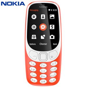 Sim Free Nokia 3310 2017 Unlocked Red