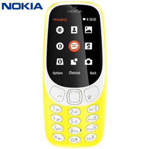 SIM Free Nokia 3310 (2017) Unlocked - Yellow