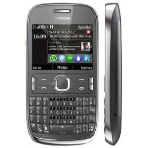 Sim Free Nokia Asha 302 - Dark Grey