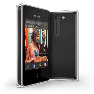 Sim Free Nokia Asha 502 Dual SIM - Black