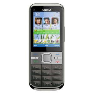 Sim Free Nokia C5 - Grey