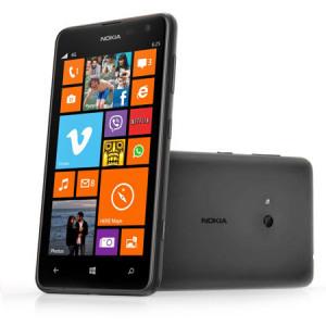 Sim Free Nokia Lumia 625 - Black Нокиа Люмия 625 Черный