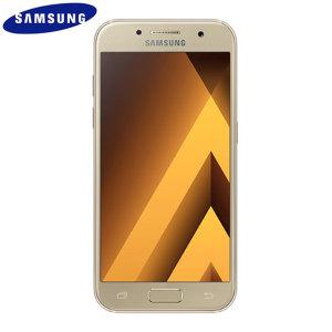 SIM Free Samsung Galaxy A3 2017 Unlocked - 16GB - Gold