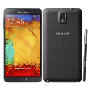 Sim Free Samsung Galaxy Note 3 - Black
