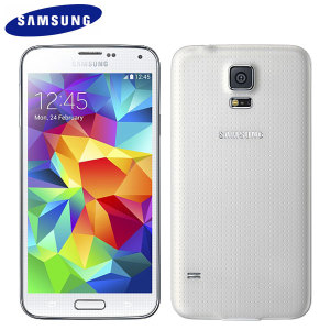 Sim Free Samsung Galaxy S5 Unlocked White 16gb P44282