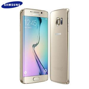 SIM Free Samsung Galaxy S6 Edge Unlocked - 32GB - Gold
