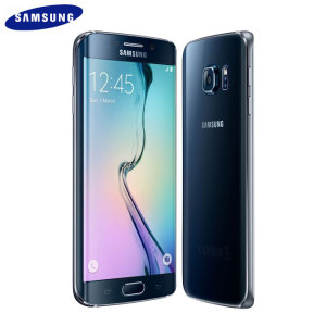 SIM Free Samsung Galaxy S6 Edge Unlocked - Black 32GB