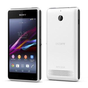 Sim Free Sony Xperia E1 - White