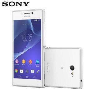 SIM Free Sony Xperia M2 8GB - White