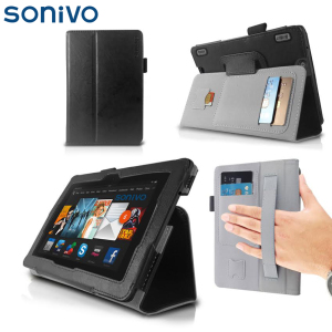Sonivo Executive Case and Stand for Kindle Fire HDX - Black