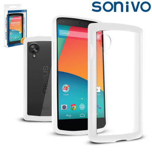 Sonivo Fusion Case for the Google Nexus 5 - White