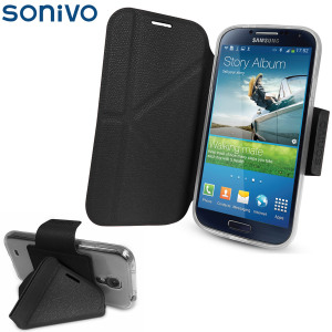 Sonivo Origami Case and Stand for the Samsung Galaxy S4 - Black