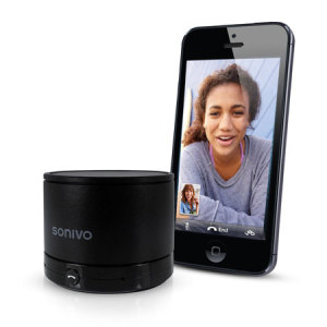 Sonivo SW100 Bluetooth Speaker Phone - Black