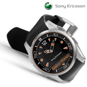 Sony Ericsson MBW-150 Bluetooth Watch - Music Edition