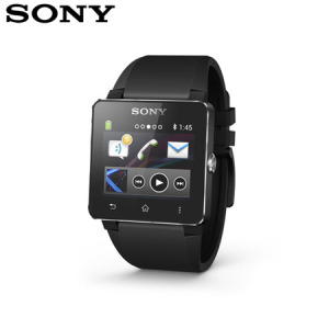 Sony SmartWatch 2 Android Watch - Black Silicone
