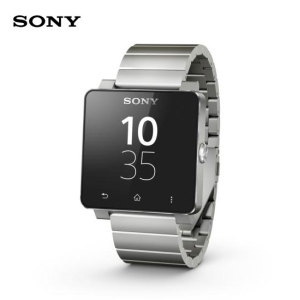 Sony SmartWatch 2 Android Watch - Silver Metal