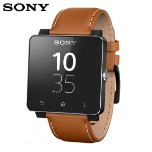 Sony SmartWatch 2 Leather Wrist Strap - Brown