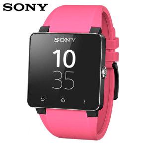 Sony SmartWatch 2 Silicone Wrist Strap - Pink