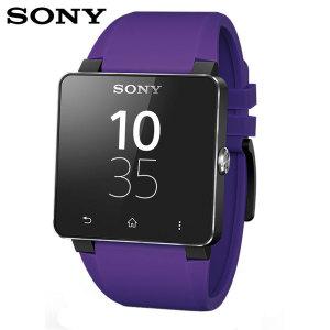 Sony SmartWatch 2 Silicone Wrist Strap - Purple