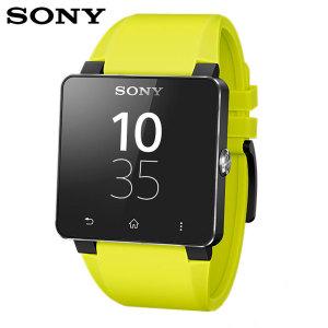 Sony SmartWatch 2 Silicone Wrist Strap - Yellow