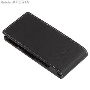Sony Xperia P Flip Case SMA5120B - Black