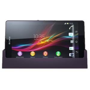 Sony Xperia Z DK26 Charging Dock - Purple