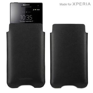 Sony Xperia Z SMA3127B Pouch Case - Black