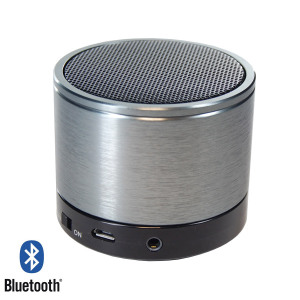 SoundWave II Bluetooth Speaker Phone - Silver / Black