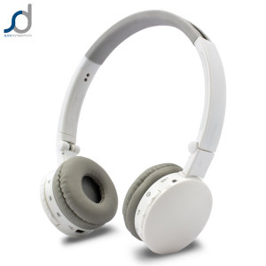 SoundWear SD50 Stereo Bluetooth Headset - White