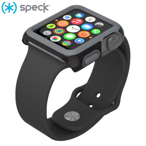 Speck CandyShell Fit Apple Watch 2 / 1 Case (42mm) - Black/Slate Grey