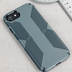 Speck Presidio Grip iPhone 7 Tough Case - Grey