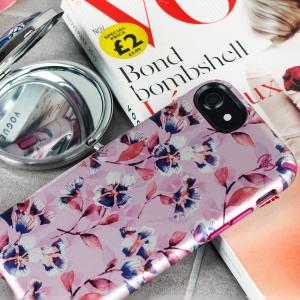 Speck Presidio Inked iPhone 7 Case - Magenta / Pink Flower