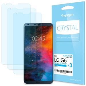 Spigen Film Crystal LG G6 Screen Protector (3 Pack)