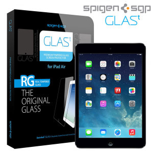 Spigen GLAS.t Tempered Glass Screen Protector for iPad Air