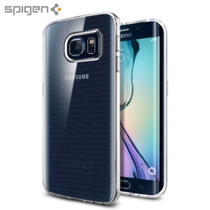 Spigen Liquid Crystal Samsung Galaxy S6 Edge Shell Case - Clear