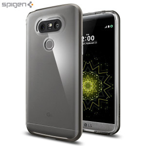 Spigen Neo Hybrid Crystal LG G5 Case - Gunmetal