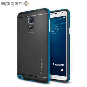 Spigen Neo Hybrid Samsung Galaxy Note 4 Case - Electric Blue