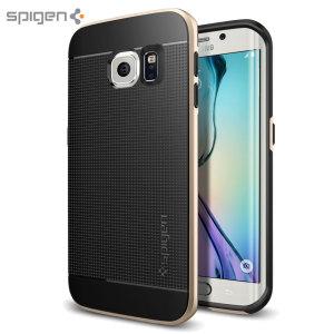 Spigen Neo Hybrid Samsung Galaxy S6 Edge Case - Champagne Gold