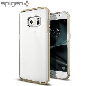 Spigen Neo Hybrid Samsung Galaxy S7 Case - Gold