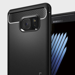 Spigen Rugged Armor Samsung Galaxy Note 7 Tough Case - Black