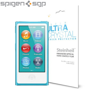 Spigen SGP iPod Nano 7G Screen Protector - Ultra Crystal