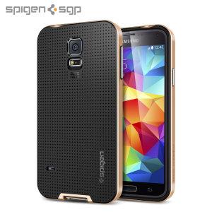 Spigen SGP Neo Hybrid Case for Samsung Galaxy S5 - Gold