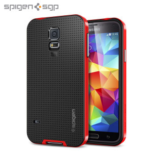 Spigen SGP Neo Hybrid Case for Samsung Galaxy S5 - Red