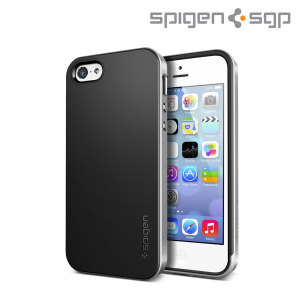 Spigen SGP  Neo Hybrid for iPhone 5C - Satin Silver