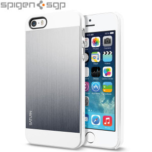 Spigen SGP Saturn for iPhone 5S / 5 - Satin Silver