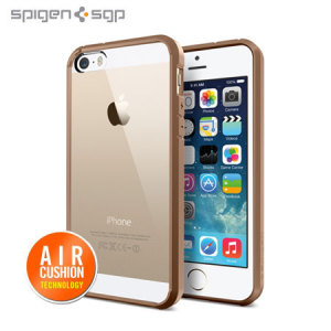 Spigen SGP Ultra Hybrid for iPhone 5S / 5 - Brown