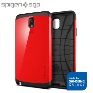 Spigen Slim Armor Case for Samsung Galaxy Note 3 - Crimson Red